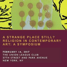 A Strange Place Still? Religion in Contemporary Art